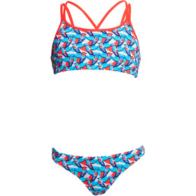 Funkita Criss Cross Two Piece Bikini Girls swallowed up